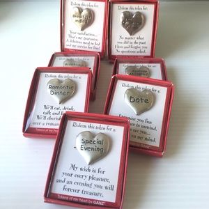 Other - Love Tokens Date Night Fun Couples Stuff Coins
